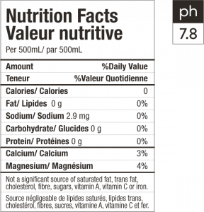 Detoxify - Nutrition Facts